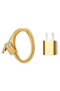 Midas iPhone 5 Charger | Shop Gifts + Home at Nasty Gal