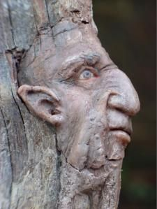 tree spirit, whoever carved it is a great artist