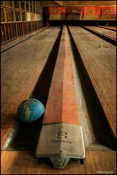 Abandoned Bowling Alley in Catskill Mountains