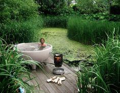 The Dutchtub — A portable wood-fire Hot Tub