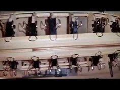 Wooden Model ship Planking - YouTube
