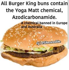 Gross! Burger King and McDonald's need to be shut down anyway... even my 7 year old knows this..