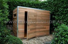 ceder 300 x 300 () Small Outdoor Shed, Outdoor Garden Sheds, Outdoor Rooms, Patio, Backyard, Outdoor Storage Units, Workshop Shed, Wooden Sheds, Concrete Garden
