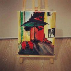 Italie - peinture acrylique sur toile