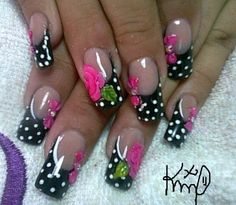 Acrylic nails by Karen