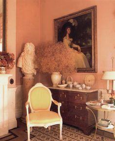 David Hicks Drawing Room at The Grove.