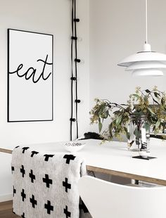 Eat 🍽  Simple, elegant dining room or kitchen print. . Available in 6x4, 7x5, A4 & A3. . . . . . . . . . . #dluxeprints #diningroomdecor #fashionhouse #homeprints  #typography #posters #prints #homedecor #scandihome  #interiorstyling #fashionblogger #scandinavianhome #nordichome #styleinspo #kitchendecor #home #interior125 #interiordesign #interior123 #style #housewise #lblogger #familyhome #scandinavian #fbloggersuk #bloggeruk #homestyle  #kitchen #scandistyle #diningroom nordicstyle