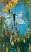 Dragonfly painting by my mom (Karen Dukes)