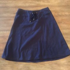 Navy cotton skirt Navy cotton skirt New York & Company Skirts