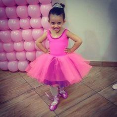 Linda Manu...#menina #ballet #balletbaby #balé #pink #rosa #sapatilha #bailarina #costura #aniversario
