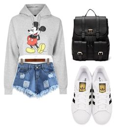 """""""Untitled #30"""" by a-basketball-h on Polyvore featuring Topshop, adidas Originals and Sole Society"""