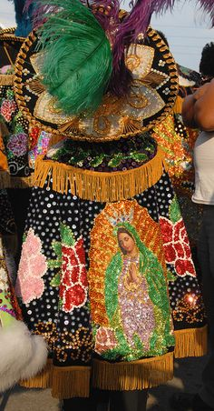 Virgen de Guadalupe by Ilhuicamina, via Flickr