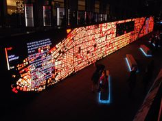 IBM Think Exhibit – Data Wall on http://www.topdesignmag.com
