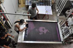 Back to Basics / Huge Silkscreen Print / 001