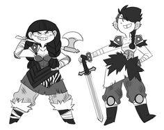 We are Vikings by kmwoot.deviantart.com on @deviantART