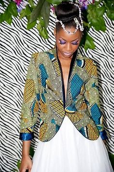 I want this blazer  Check out Latest Ankara Styles and  dresses >> http://www.dezangozone.com/