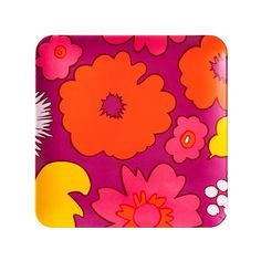 Marimekko for Target Square Serving Tray ($9.98) ❤ liked on Polyvore featuring home, kitchen & dining, serveware, warm, modern serving tray, square serving dish, marimekko tray, square tray and marimekko