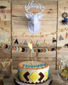 Tribal Party cake