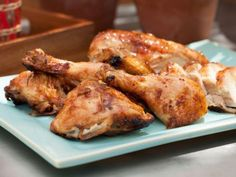 As seen on The Kitchen: Sweet Glazed Butterflied Grilled Chicken