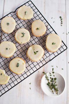 Vanilla Bean and Thyme Slice and Bake Cookies (via abeautifulmess.com)
