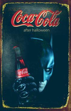 Halloween theme Coca Cola posters by Zoki Cardula via Behance - Coca Cola - Idea of Coca Cola Coca Cola Poster, Coca Cola Ad, Always Coca Cola, World Of Coca Cola, Pin Ups Vintage, Vintage Coke, Vintage Signs, Vintage Posters, Coca Cola Christmas