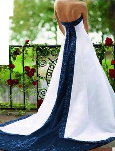 nautical wedding dresses | Nautical Themed Wedding Dress
