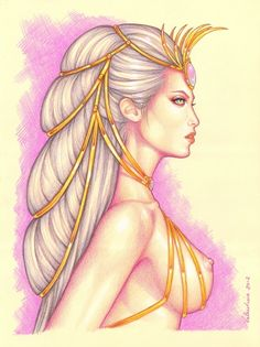 Dejah Thoris Comic Art