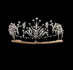 Second half 19th century tiara.