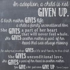 My Adoption Blog. :D It's just my adoption journey as a birthmother. #adoptionisaboutlove #birthmom #iamaproudbirthmom