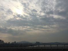 #sky #seoul_korea