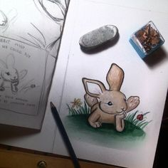 Watching @Jenny Frith 's process of creating the illustrations from start to finish has been amazing. She has captured and created a personality for each of the animals in the story beautifully. You can see more of her work at https://www.facebook.com/ArtByJenniferFrith More about The Rabbit Who Wished He Could Fly can be found here: https://www.facebook.com/KonaAndFriends?ref=hl #Kidsbooks #Childrensbooks #illustrations #rabbits #cutebunnies #GoodBooks #BooksForTeachers #BooksForMoms