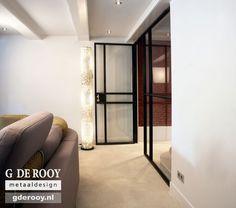 Stalen scharnierdeuren in Amsterdam | G. de Rooy Stalen binnendeuren
