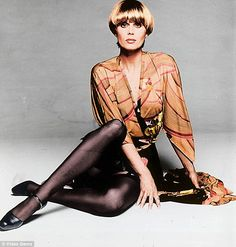 The Purdey style was born when Joanna Lumley (pictured) went to a London salon and told a talented young hairdresser called John Frieda to cut it like a 'prep school boy'