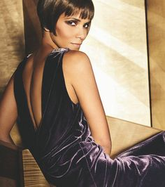 Long hair has long dominated the Western beauty aesthete. But this shockingly short hair style changed everything by the early Find out three classic ways to rock a bob. Bob Hairstyles, Haircuts, Celebrity Short Hair, Dangly Earrings, Halle Berry, Bobs, Short Hair Styles, Mad, Seasons