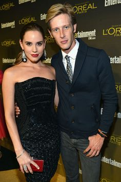 Christa Allen and Gabriel Mann Attend The Entertainment Weekly Pre-Emmy Party, Sept. 21, 2012