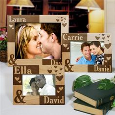 Couples Picture Frame | Engraved Couples Picture Frame, want one for myself, plus would be great wedding gift
