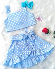 Discover recipes, home ideas, style inspiration and other ideas to try. Baby Girl Frocks, Kids Frocks, Frocks For Girls, Dresses Kids Girl, Little Girl Outfits, Kids Outfits, Toddler Outfits, Baby Girl Dress Patterns, Baby Dress Design