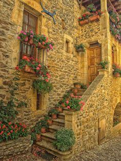 Awesome building in Aveyron, France