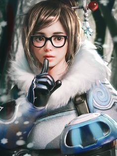 Overwatch Mei by cursedapple.deviantart.com on @DeviantArt