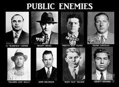 "You know you are a real gangster when you are named ""public enemy number Pretty Boy Floyd, Gangster Quotes, Real Gangster, Mafia Gangster, Gangster Wedding, Gangster Tattoos, Baby Face Nelson, 1920s Gangsters, Bugsy Siegel"