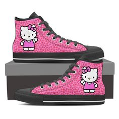 62001b3e3 Hello Kitty Women's High Top Shoe Hello Kitty Clothes, Hello Kitty Shoes,  ...