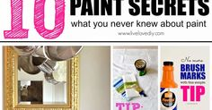 It's that time again! Welcome to 10 Paint Secrets Part Three!  You can catch up on Part One  and Part Two  if you missed them earlier...