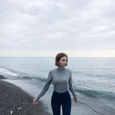 """26.6 mil curtidas, 140 comentários - Kira Rausch (@granitsysterty) no Instagram: """"это последняя, обещаю!  не знаю, куда девать свои длинные руки на фотках (модель, ага)"""""""