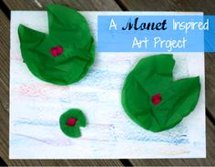 A simple and fun art project that will help to inspire an appreciation of the artist Claude Monet...