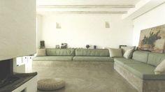 En Italie, cette villa a été construite en cendres volcaniques