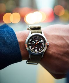 The Todd Snyder x Timex Military Watch Is Finally Back In Stock Timex Military Watch, Todd Snyder Timex, The Todd, Timex Watches, Amazing Watches, Modern Watches, Basic Style, Men's Style, Vintage Rolex