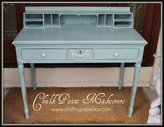 Crafting Rebellion: Chalk Paint Makeovers