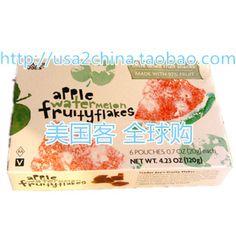 美国Trader Joe's 苹果西瓜片/混合果脯 6小袋/盒 富含97%纯果肉-淘宝网