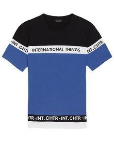 CAMISETA ESTAMPADA COLOR BLOCK-CAMISETAS-HOMBRE   ZARA México Camisetas Polo,  Camisetas Estampadas d08f810cef
