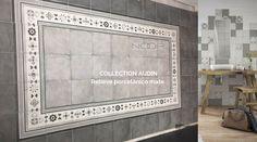 Nuestra colección AUDIN...relieve irregular y variedad gráfica. Visita nuestra nueva web para más información www.noorceramics.com #noorceramics #ceramica #azulejo #pavimento #revestimiento #fliesen #design
